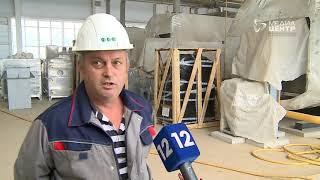 Новый тепличный комплекс начали остеклять в Череповце