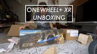 Onewheel+ XR Unboxing and a whole bunch of accessories!