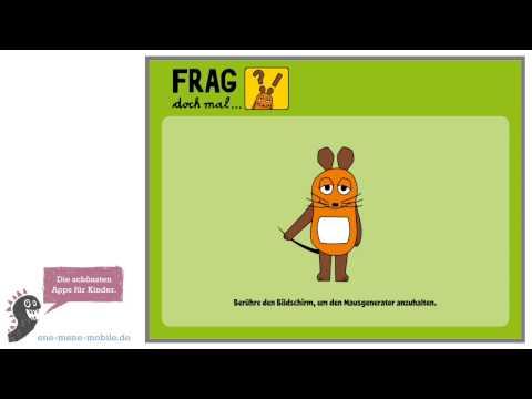 Lustige Kinder-Quiz-App 🐭 Frag doch mal die Maus 🐭 App-Vorschau & Gameplay