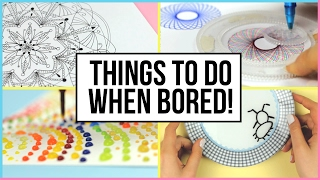 Oddly Satisfying Things To Do When You Are Bored At Home!   What To Do When Bored!   Part 2
