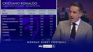 Gary Neville examines how Cristiano Ronaldo's game has changed!   Monday Night Football
