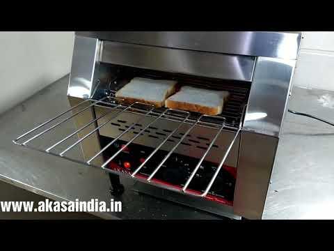 Akasa Indian Conveyor Toaster - 300 slices/hr