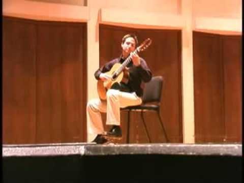 "Erol Ozsever plays ""Aquarelle"" ii-iii by Sergio Assad"