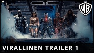 Justice League - virallinen traileri