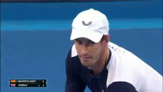 Australian Open 2019 1st Round - Roberto BAUTISTA AGUT [22] (ESP) V Andy MURRAY (GBR)