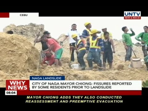 [UNTV]  DENR issues relief order for top MGB-7 officials over Naga landslide