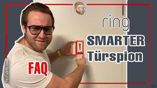 "SMARTER TÜRSPION?? IHR FRAGT ICH ANTWORTE!! | Ring Doorview | ""FELFLOFEL.com"""