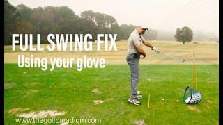 FULL SWING FIX: Glove Under The Lead Arm Vs. Trail Arm