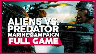 Aliens Vs. Predator [Marine Campaign] (PC 60FPS) | Full Gameplay/Playthrough | No Commentary