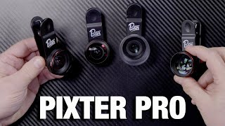 Pixter Pro : grand angle, macro et fisheye pour tous les smartphones