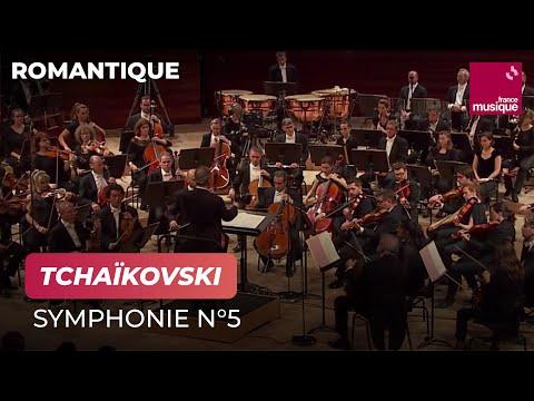 Tchaïkovski : Symphonie n°5 (Orchestre national de France / Emmanuel Krivine)