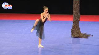 Elena Pejic, Serbia, world championship, 4th place, showdance , the Leaf, choreograped by Jan Ravnik