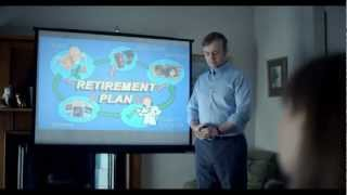 Irish Life Pension TV advert