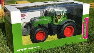 Jamara RC tractor Fendt Vario 1050 UNBOXING and TEST RIDE!