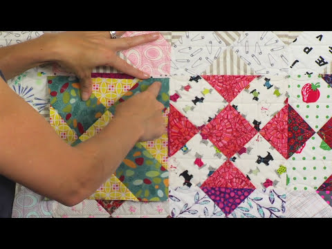From the Sizzix Quilting Workshop:  Rock the House with the Rocking the House Block