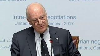 A Ginevra nuovo round di negoziati per la pace in Siria