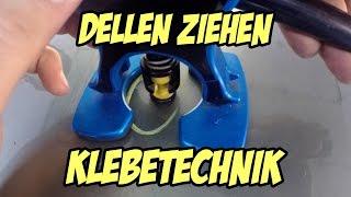 Dellen entfernen- Die Klebetechnik //dellentechnik-berlin.de // Autopflege-Experten-Talk #2