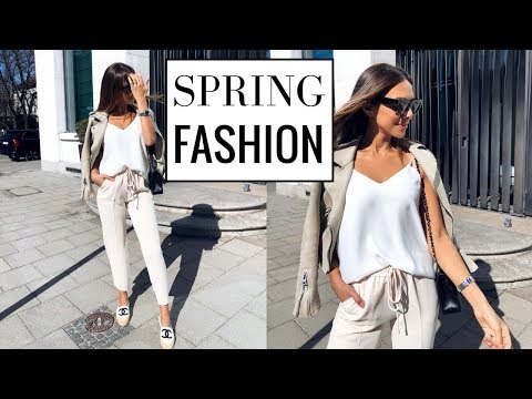SPRING FASHION TRY-ON HAUL | Comfy Chic Neutrals | Annie Jaffrey