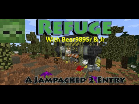 FTB modpack Refuge Ep 1 Getiin to the lab and gettin settled in.