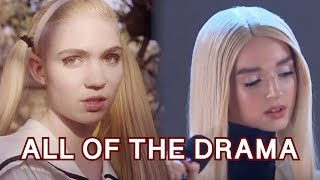 Grimes Regrets Poppy Songs (Comprehensive Video Of All The Drama)