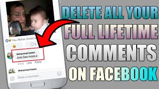 How To Delete Old Facebook Posts Comments || Facebook Comments || Manage Comments