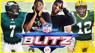 BROTHERS SHOW NO MERCY! DIRTY PLAYS EVERYWHERE! - NFL Blitz Gameplay   #ThrowbackThursday
