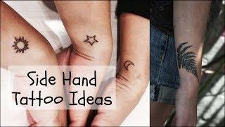 Side Hand Tattoos For Women, Small Tattoos - Tattoo Designs