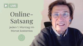 Christian Meyer - Online Satsang vom 04.10.21 - jeden ersten Montag im Monat