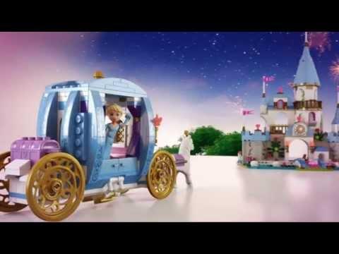Vidéo LEGO Disney 41055 : Le château de Cendrillon