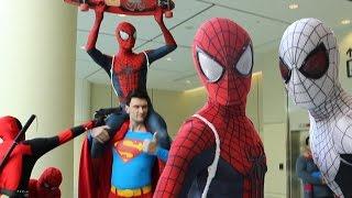 Spider-Man - Spider-Verse Comic Con Invasion!   Kholo.pk