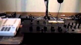 WOLF Radio Studios July 1991