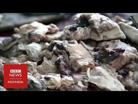 Makan daging busuk, cara miris warga Venezuela melawan krisis