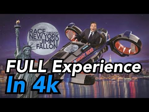 Download [4k] Race Through New York Starring Jimmy Fallon - Full Experience | Universal Orlando Mp4 HD Video and MP3