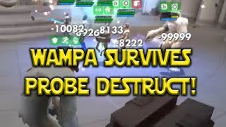 SWGoH - Wampa Survives Probe Droid Destruct! @1h 10m - Shadow Of War Mobile #AD - New Donation Setup