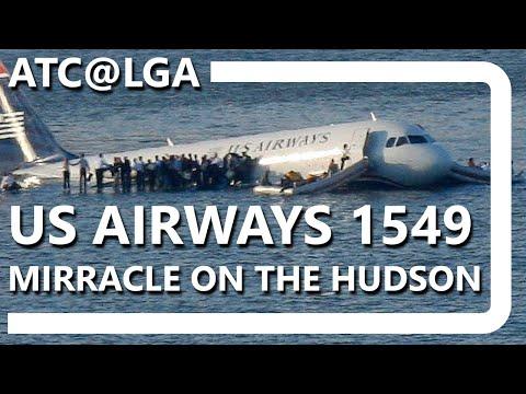 ATC@LGA - Flight 1549 [COMPLETE TRANSCRIPT] (by Aldo Benitez)