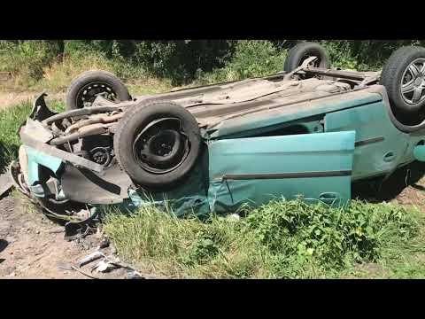 Wideo1: Wypadek na DK12. Dwa auta zderzyły się na trasie Kąkolewo - Krzemieniewo