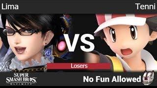 NFA 3 - Lima (Bayonetta) vs Tenni (Pokemon Trainer) Losers - SSBU