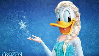 "Donald Duck Singing ""Let It Go"""