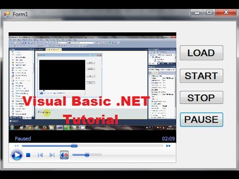 Visual Basic .NET Tutorial 29 – Using the Windows Media Player Control with VB.NET
