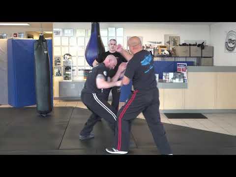 Mastering Krav Maga Online:  Linear Punch Defenses Getting Off the Line Concept (Orange Belt)
