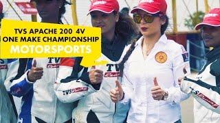 MotorSports : TVS Apache 200 4V : One Make Championship : PowerDrift