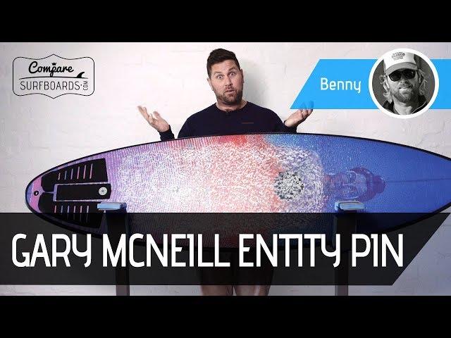 Gary McNeill Entity Pin Step-Up Surfboard Review | Compare Surfboards