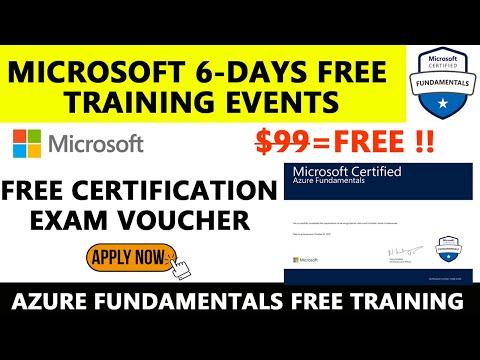 Microsoft Free Certificate   Azure Fundamental Certification Exam ...