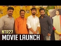 NTR 27th Film Launch Video