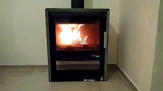 Кафельная печь  камин на дрова Haas+Sohn Jonsbo Woodstone Prestige ( Песчаник ) від компанії House heat - відео 2