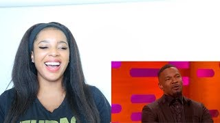 JAMIE FOXX FUNNY MOMENTS ON THE GRAHAM NORTON SHOW | Reaction