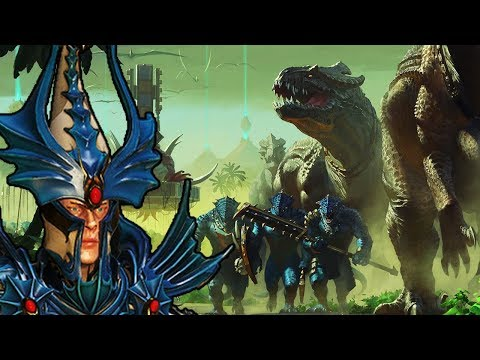 WELCOME TO THE JUNGLE - High Elves vs. Lizardmen - Total War Warhammer 2