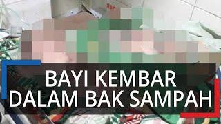 Gempar, Bayi Kembar Ditemukan dalam Kardus Dekat Bak Sampah di Kalteng, Tali Pusar Masih Menempel
