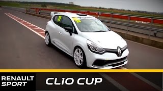 preview picture of video 'Renault UK Clio Cup - Clio 4 RS Shakedown Test'