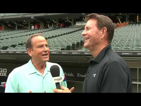 Jim Palmer talks with Steve Stone